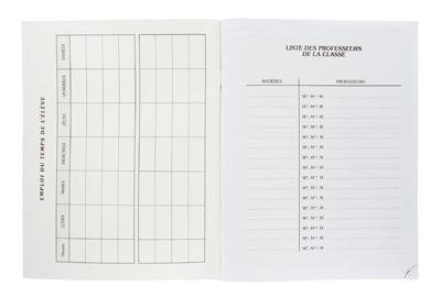 agenda scolaire 80 pages 17x22 fuzeau vente d 39 agenda scolaire la centrale du bureau. Black Bedroom Furniture Sets. Home Design Ideas