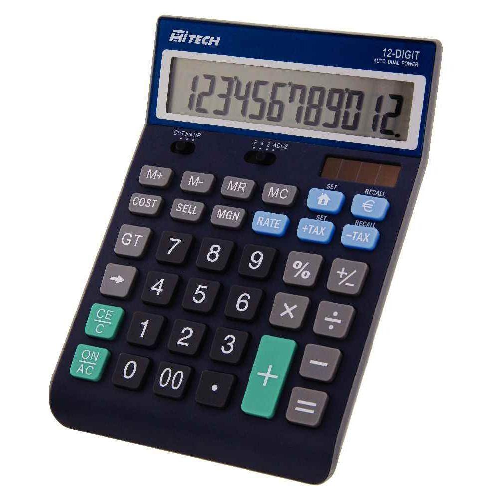 Calculatrice de bureau hitech c1509b 12 chiffres Truly Vente
