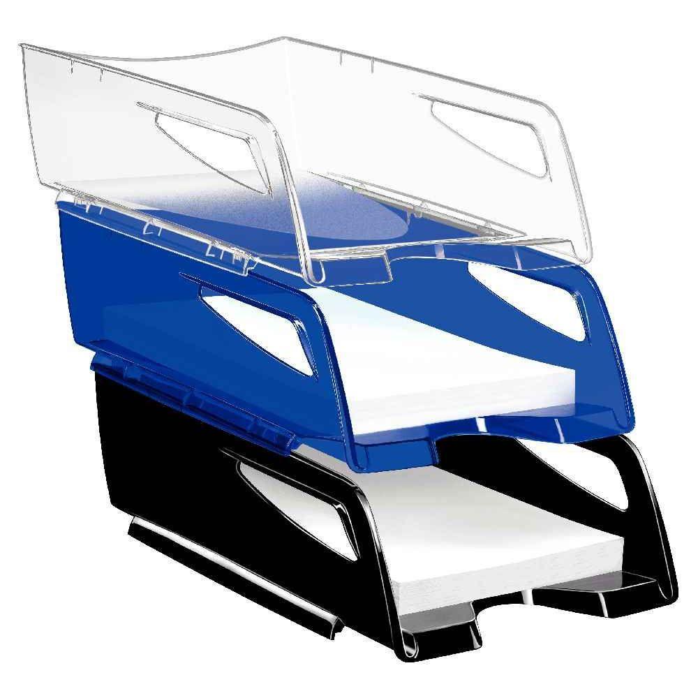 Blanc Arctique Maxi Corbeille /à Courrier CEP 220 Gloss