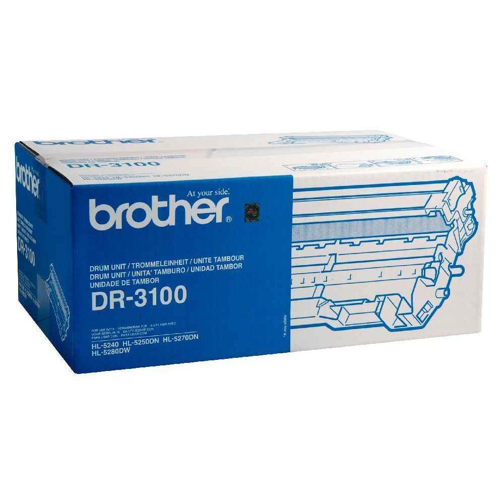 Tambour Brother DR3100. Tambour DR 3100 noire à la marque pour imprimante Laser BROTHER.