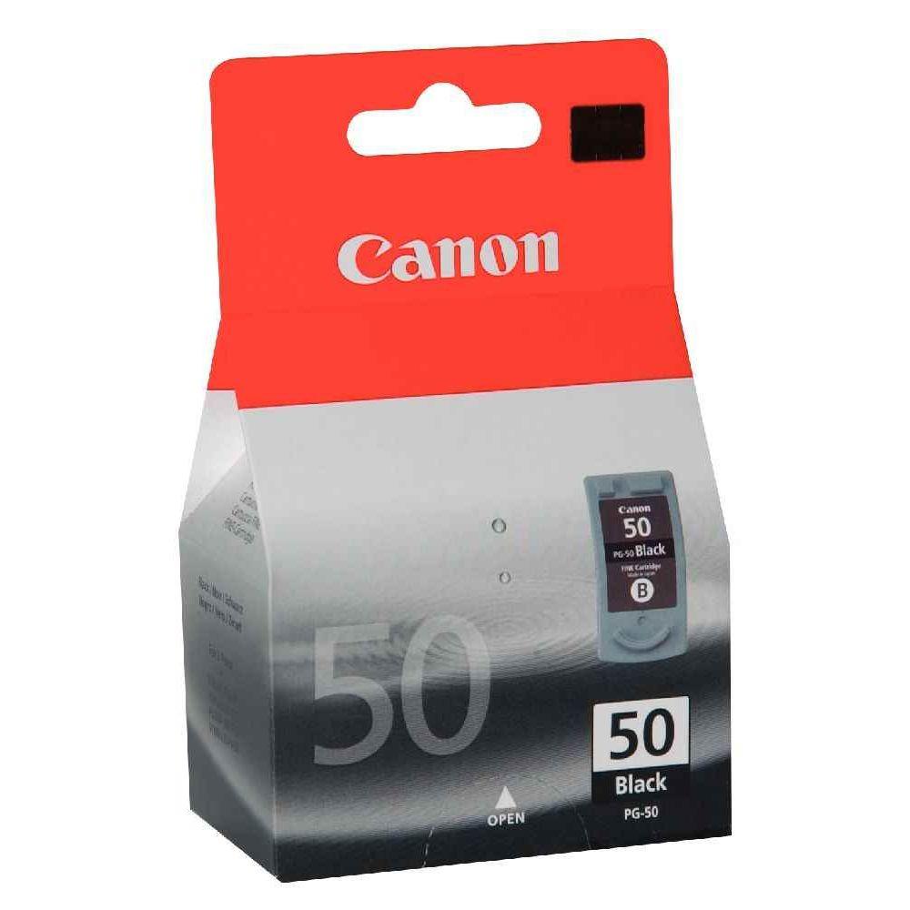 Cartouche Canon pg-50 noir a la marque. Cartouche d'encre CANON PG-50 - NOIRE