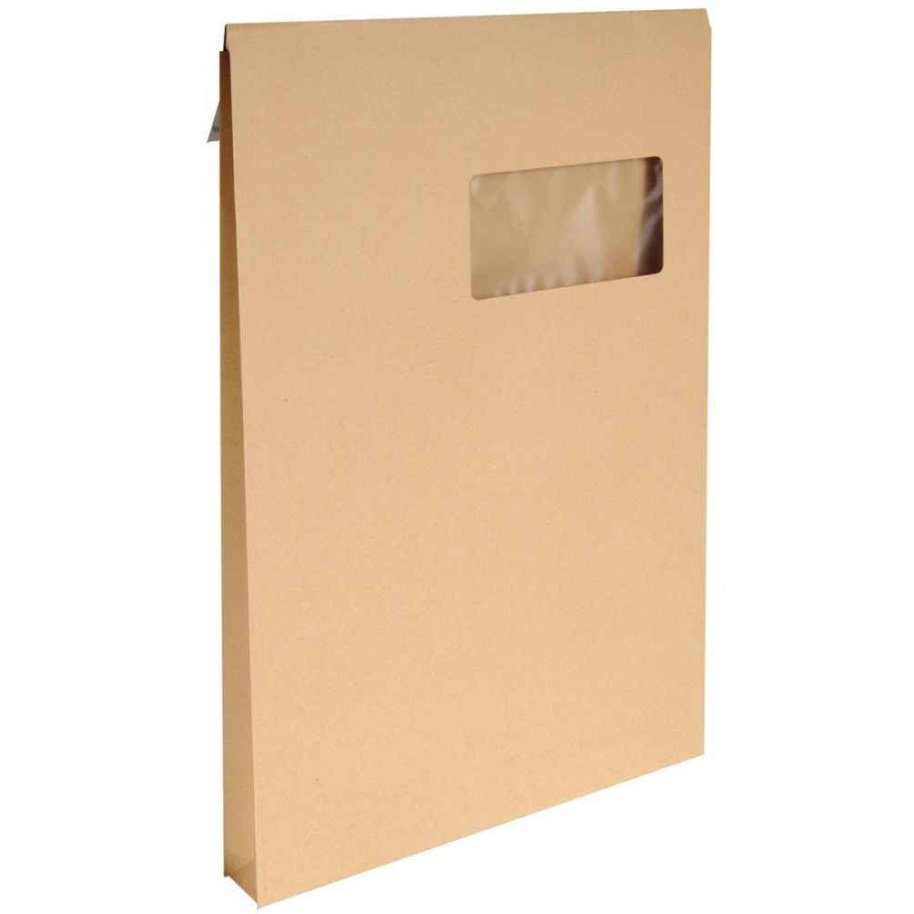 Enveloppe kraft c4 229x324 soufflet 3 cm fen tre for Enveloppe a fenetre