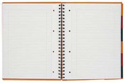 Cahier organiser book ligne 6mm trieur reliure int grale 180p oxford office vente de bloc de - Cahier oxford office book ...