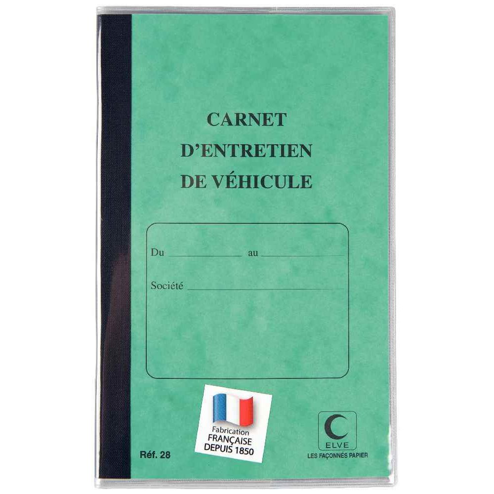 carnet d 39 entretien du vehicule lebon vernay vente de carnets imprim s la centrale du bureau. Black Bedroom Furniture Sets. Home Design Ideas