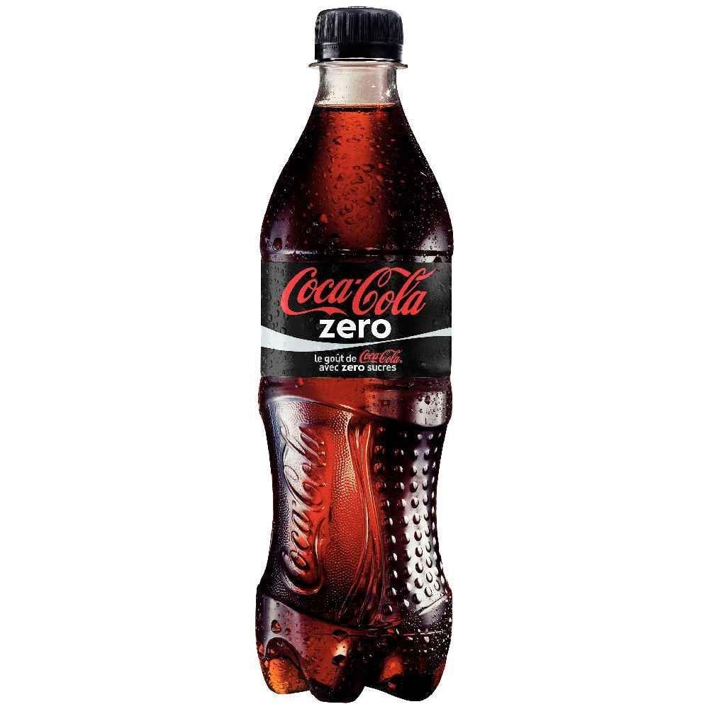 coca cola zero pack de 24 bouteilles de 50cl coca cola vente de boisson froide la. Black Bedroom Furniture Sets. Home Design Ideas