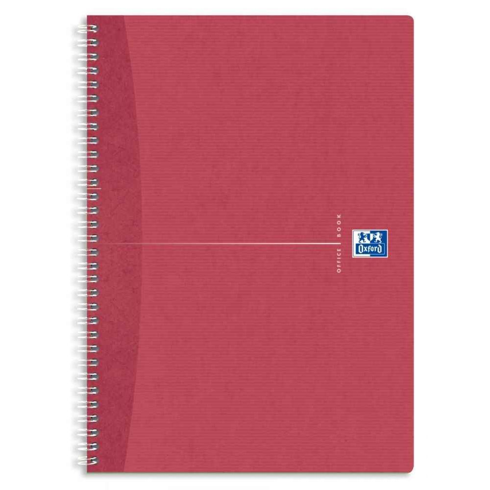 Cahier spirales recycle petit carreaux A4 180p 90g. Cahier à reliure intégrale, 180 pages. Format A4 (21 x 29,7 cm), 5x5, papier 90G 100