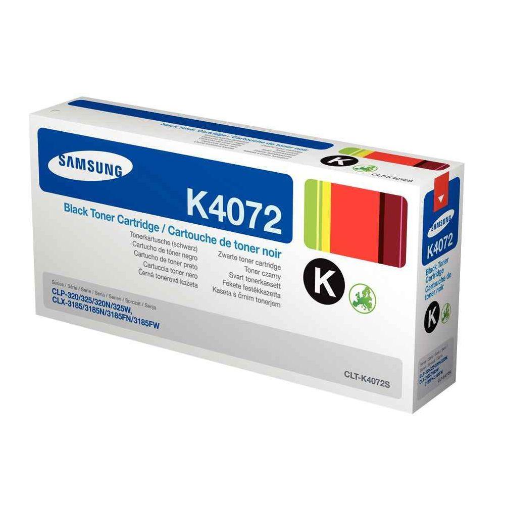 Toner Samsung clt-k4072s noir. Toner à la marque Samsung Noire CLT-K4072S pour Imprimante Laser Samsung.