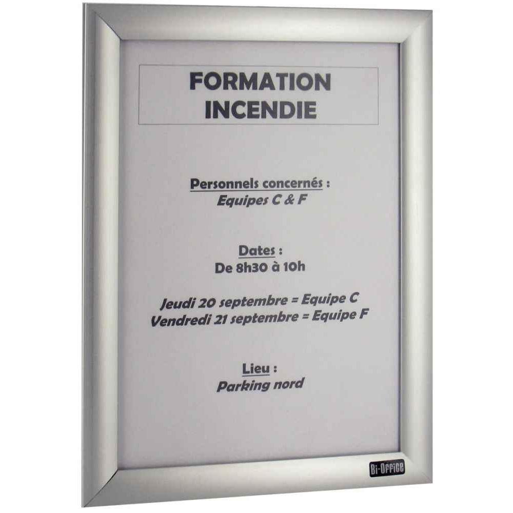 cadre d 39 affichage clipsable a3 deflecto vente de. Black Bedroom Furniture Sets. Home Design Ideas