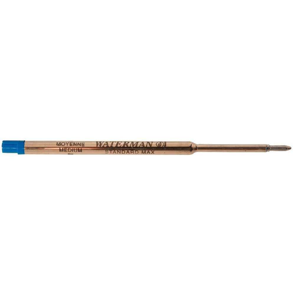 Waterman Maxima S0791020 Recharge Standard pour Stylo bille pointe moyenne Bleu